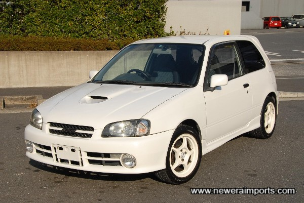 Very few top quality Glanza V Turbo's are available!