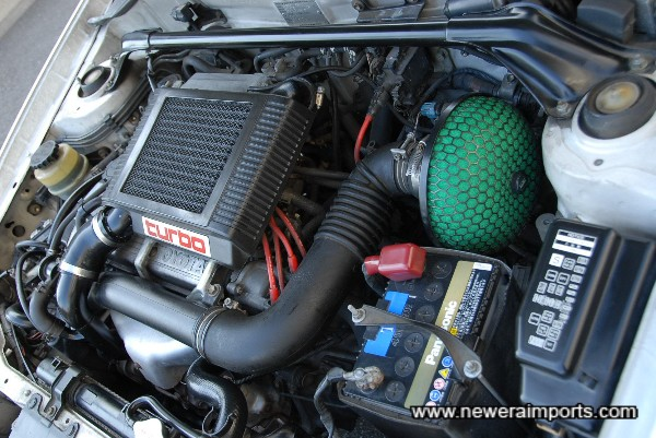 HKS SPF Air Cleaner kit.