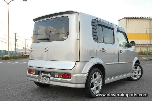 Note the design of the rear window & door.