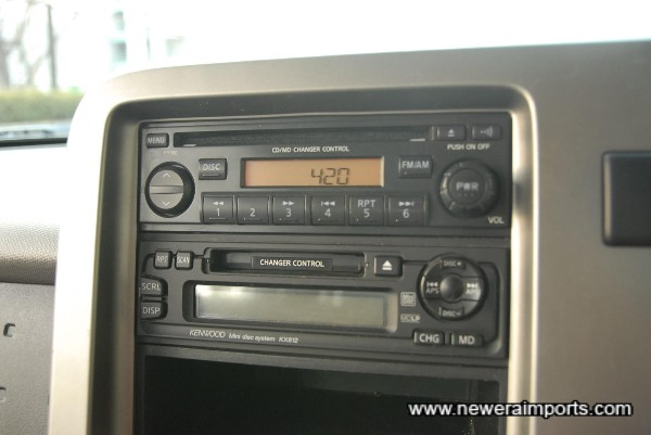 CD / Minidisc / Radio