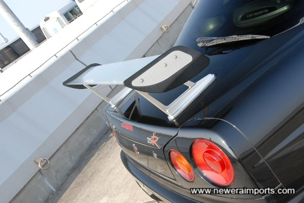 Original Tommy Kaira alloy GT Wing.