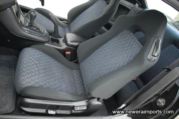 Interior is in excellent condition, in keeping with the low genuine mileage.