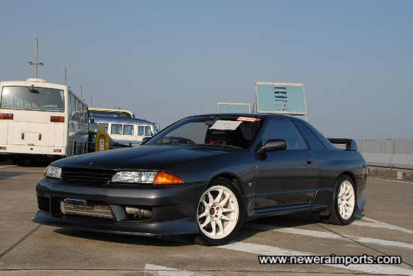 A complete Nismo bodykit is available with this car.