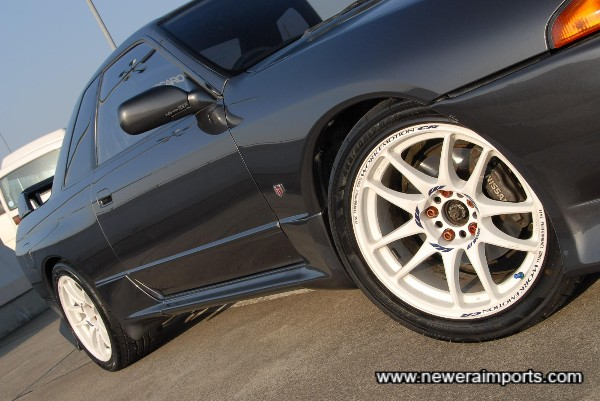 We have a set of original Nismo side skirts to replace these...!