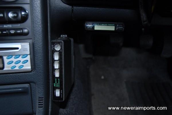 HKS Boost controller & turbo timer.