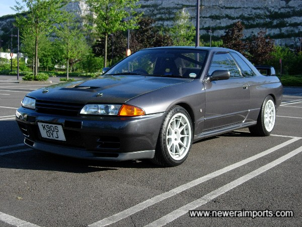 One of the best R32 GT-R's we've supplied.
