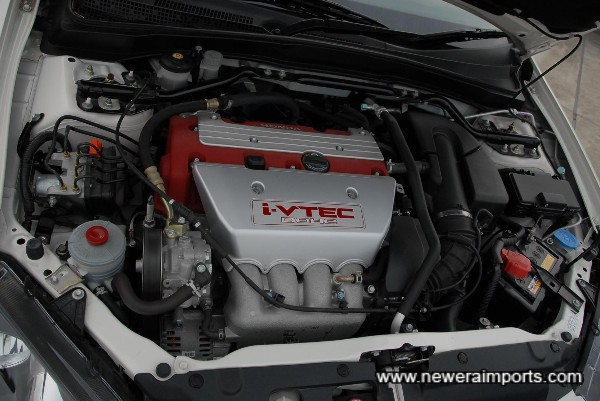 220 bhp iVtec 2.0 engine is the most powerful yet for an ITR.