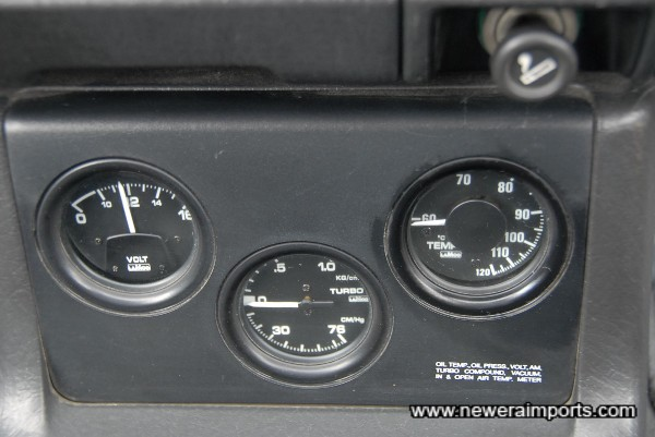 Original option gauge set!