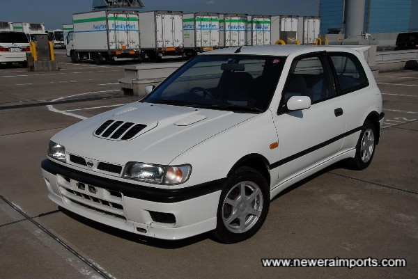 One of the last Pulsar GTi-R's made - complete with updated interior trim.