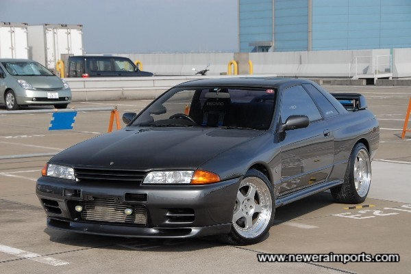 The best condition & lowest mileage example of  a Skyline R32 GT-R  we've come across this year!