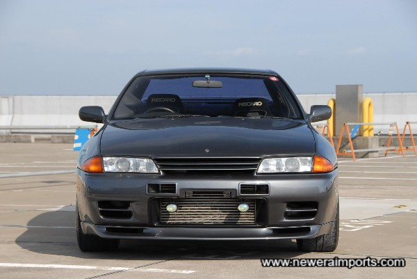 Nismo bonnet lip and intercooler vents fitted