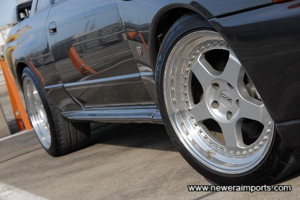 Stunning 18 '' OZ Racing Forged alloy wheels in near new condition!