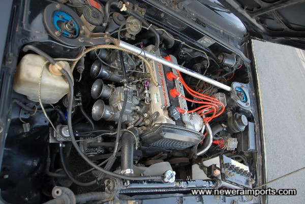 AE92 Engine on Mikuni Carbs and other modifications!