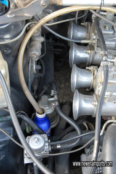Uprated fuel pressure regulator.