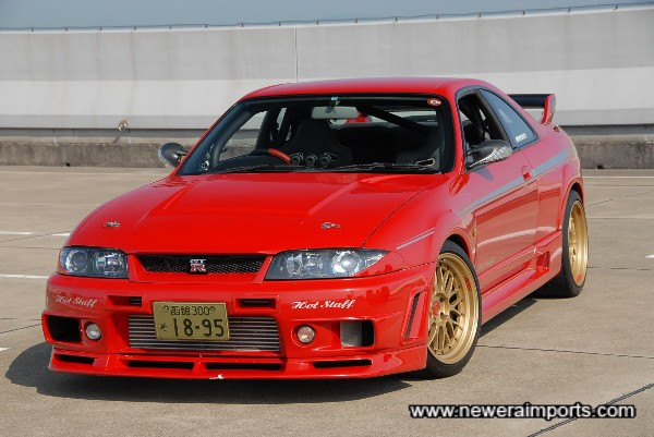Stunning Nismo 400R bodykit - with a full respray of best quality.