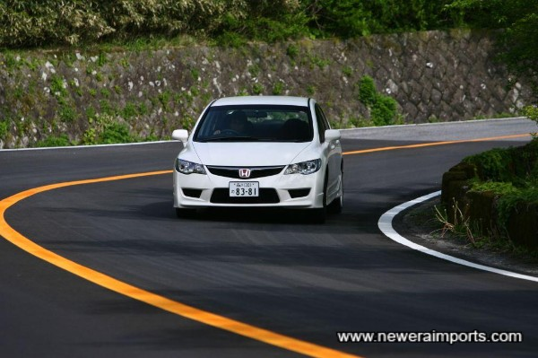Honda claims the body is 50% more rigid than the previous Japan-only Integra Type R DC5.