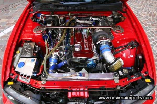 Engine spec is absolutely comprehensive.