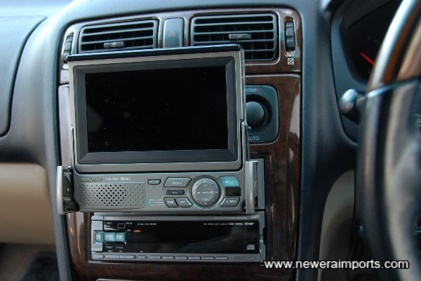TV system is fitted (Will work with a DVD player).