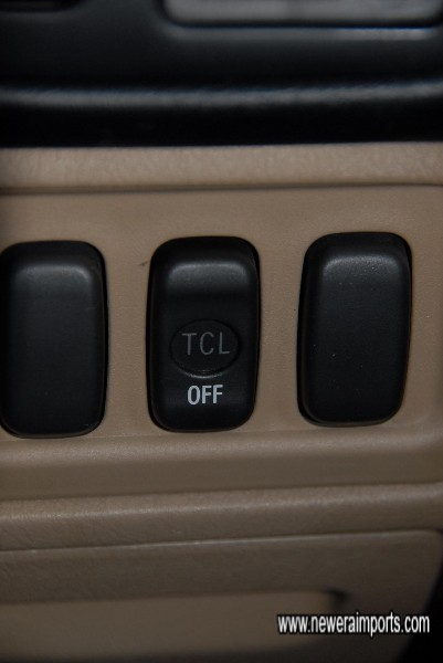 TCL - as fitted to Type S models (Traction control).