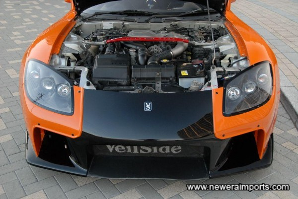 Engine is standard - Note all tuning work is available in Japan to customer specification.