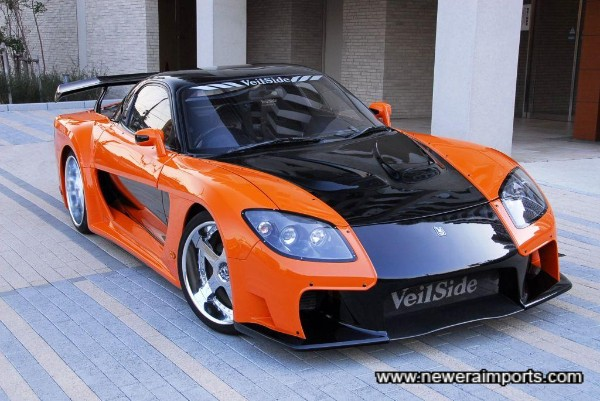Currently the best known modified Japanese Sports car, worldwide.