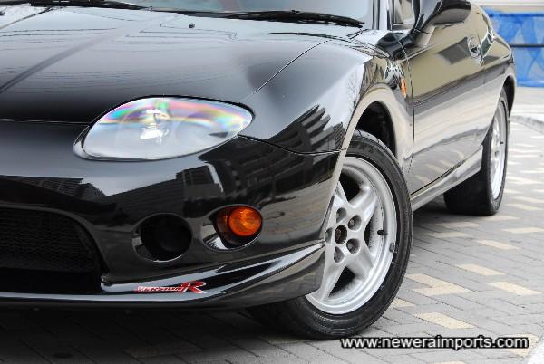 Version R Aero Series front bumper.