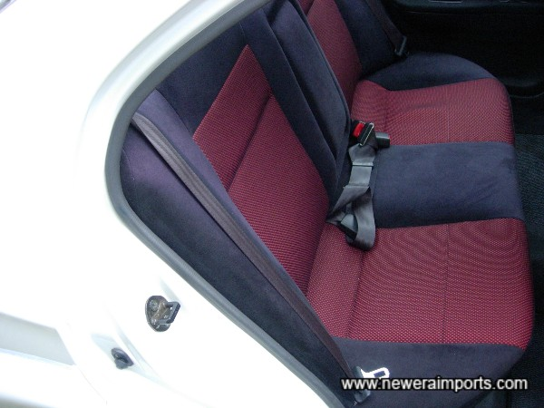 Rear seats like new also.