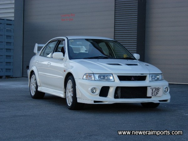 Finding an Evo 6 TME this good is unusual!