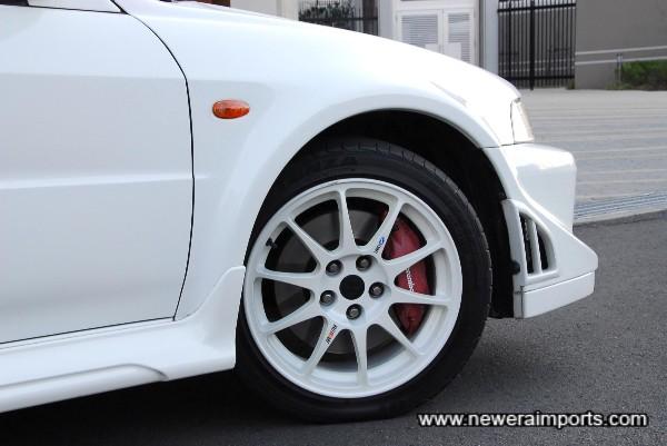 Enkei wheels - Original fitment for TME's