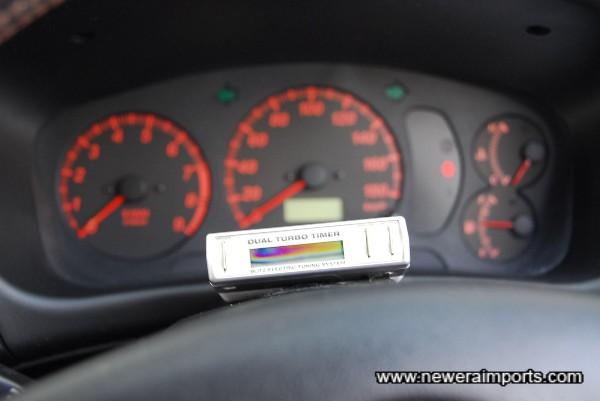 Blitz Dual Auto turbo timer.
