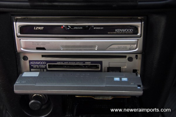 Audio includes DVD Navi & TV (Won't work in UK without specialist conversion - but will play CD's & Radio)