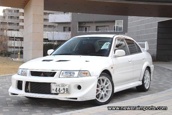 The TME is the best of all the Evo's made to date!