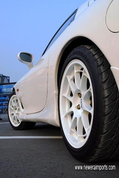 Enkei NT03 wheels - A very classy & unique design!