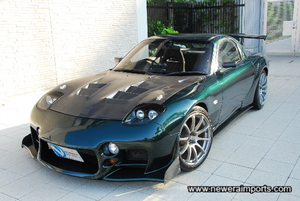 Stunning custom paintwork , FEED Aflux & RE Amemiya genuine bodykit and much more!