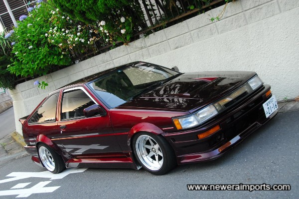 Will most likely be one of the best AE86's in the UK shortly..