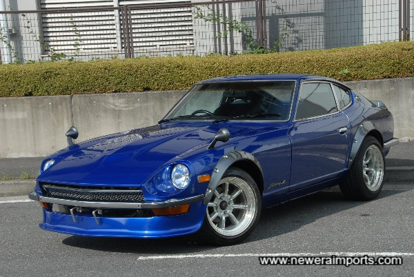 One of the most stunning modified 70's Z's we've come across.