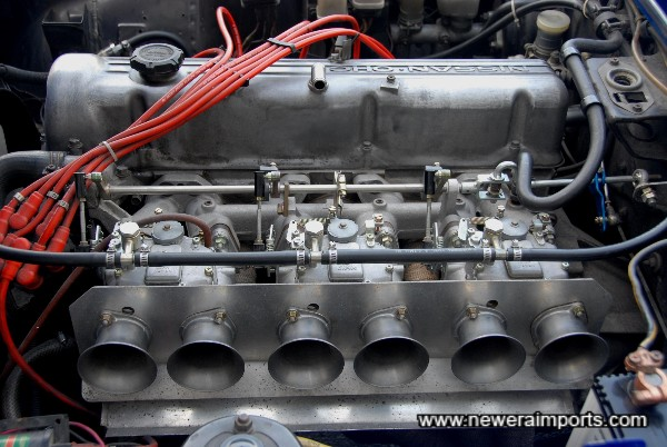 L28 engine fitted which was bored to 2.8