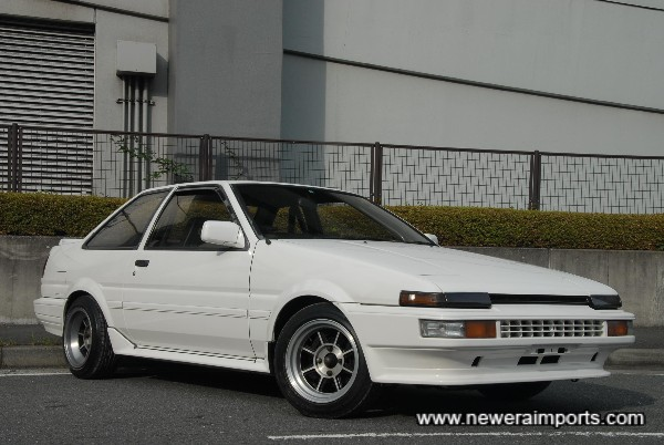 This is a 'Kouki' late model example with facelift lights, etc.