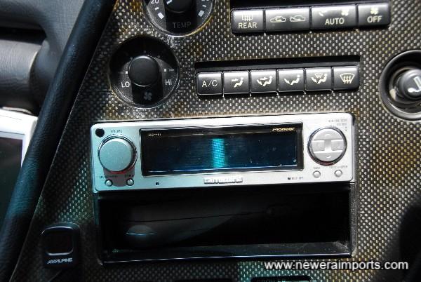 High quality Carrozzeria Audio