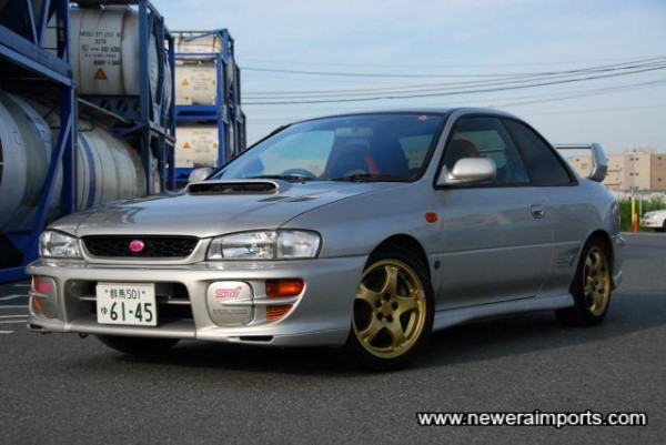 A beautifully cared for 2 Door Coupe Impreza.