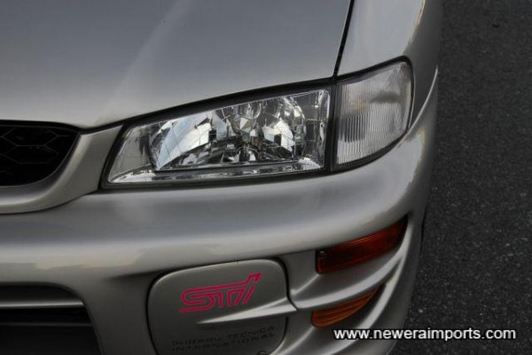 Note facelift headlights, bumper, etc.