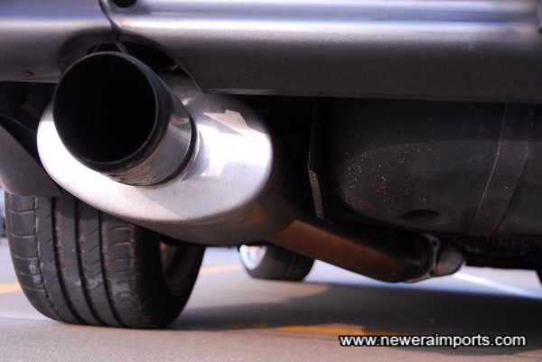 Mine's VX Stainless exhaust system.