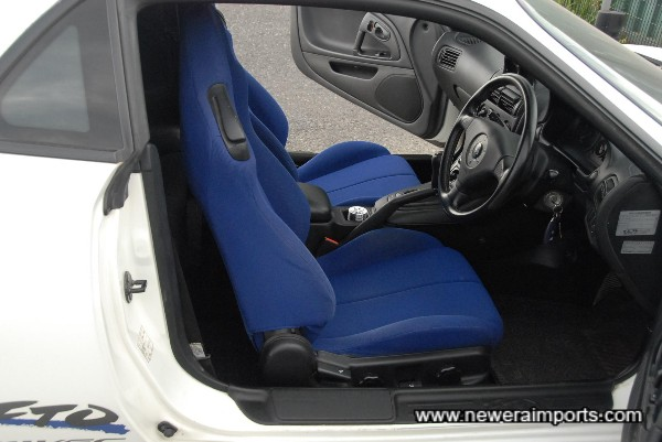 Interior is in excellent condition throughout in keeping with the low genuine mileage.