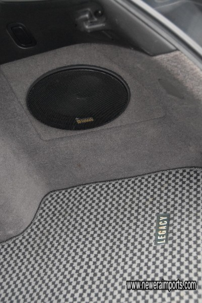 High performance Audio system.