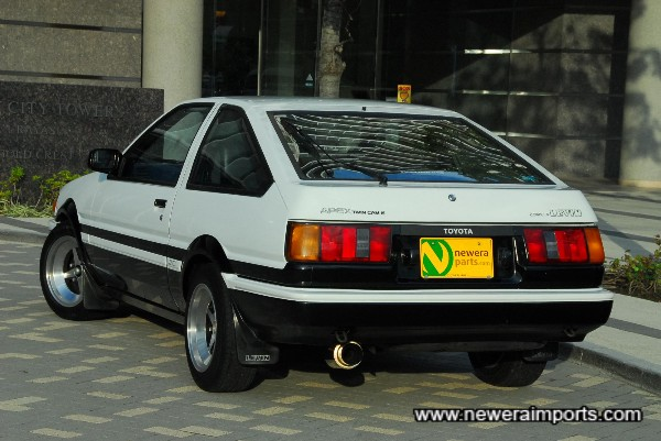 European style rear lights.