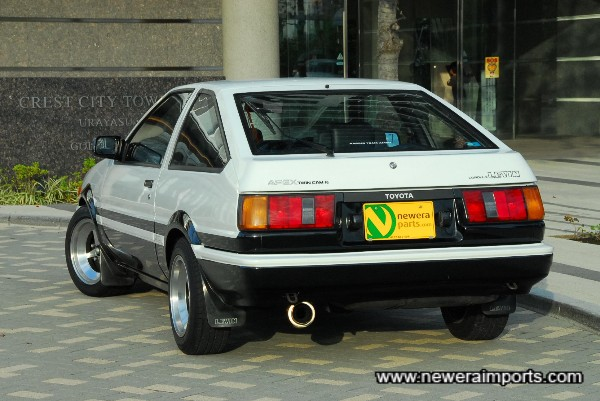 Probably the best condition AE86 soon to be in UK / Ireland.