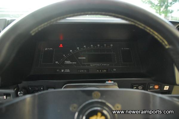 Original Digital Dash - Only available on select Japanese spec models.