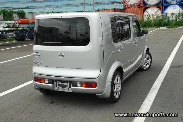 Unique rear end design too!