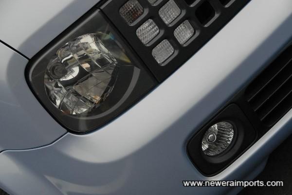Original Option Driving lights.