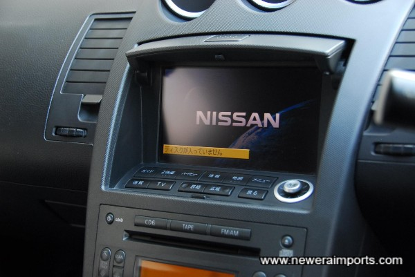 Original option TV & Navigation system